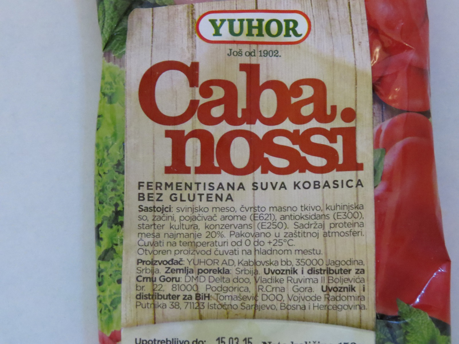 Cabanosi fara gluten in Serbia