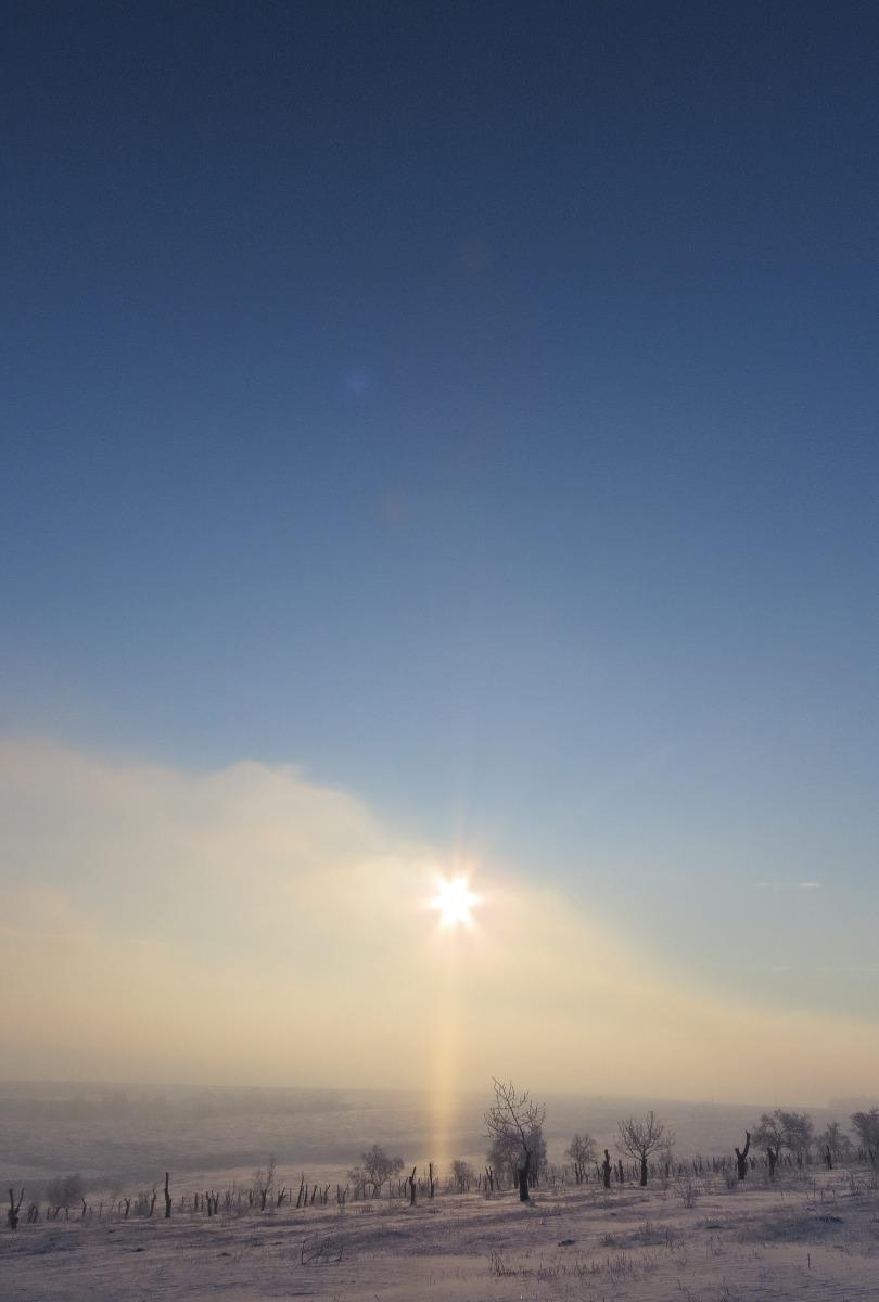 Coloana Soarelui la Melidava
